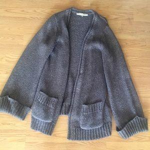 Trina Turk Oversized Gray Sweater